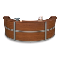 Picture of OFM 55293 Reception Desk, Marque Laminate Triple Reception Desk