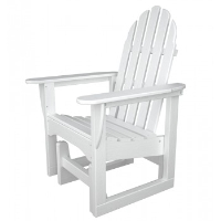 Picture of Polywood Adirondack ADSGL-1, Recycled Plastic Outdoor Glider Chair