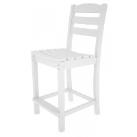 Picture of Polywood La Casa TD101, Recycled Plastic Outdoor Armless Dining Counter Chair