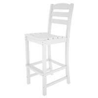 Picture of Polywood La Casa TD102, Recycled Plastic Outdoor Armless Dining Bar Chair