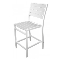 Picture of Polywood Euro A101, Recycled Plastic Outdoor Cafe Dining Counter Stool Chair