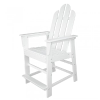 Picture of Polywood Long Island XECD24S, Recycled Plastic Outdoor Dining Counter Chair