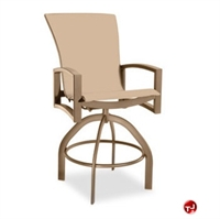 Picture of Homecrest Havenhill 4A580, Outdoor Aluminum Sling Swivel Barstool