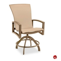 Picture of Homecrest Havenhill 4A780, Outdoor Aluminum Sling Swivel Rocker Barstool