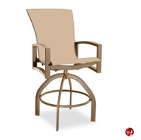 Picture of Homecrest Havenhill 4A480, Outdoor Aluminum Sling Swivel Barstool