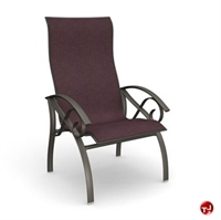 Picture of Homecrest Kensington II 40379, Outdoor Steel Sling Dining Chair