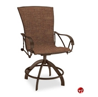 Picture of Homecrest Legendary 78580, Outdoor Steel Sling Swivel Balcony Stool