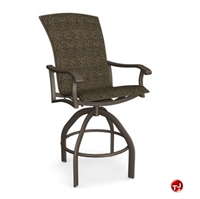 Picture of Homecrest Westcott 5A480, Outdoor Aluminum Sling Swivel Cafe Barstool