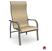 Picture of Homecrest Holly Hill 2A379, Outdoor Aluminum Sling High Back Dining Chair