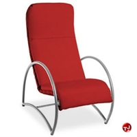 Picture of Homecrest Cirque 6038A, Outdoor Aluminum with Cushion Dining Chair