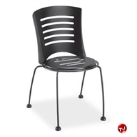 Picture of Homecrest Latte 90592, Outdoor Steel Stackable Dining Side Chair