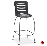 Picture of Homecrest Latte 90252, Outdoor Steel Cafe Barstool