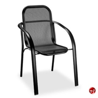 Picture of Homecrest Florida Mesh 2F320, Outdoor Aluminum Cafe Stackable Chair