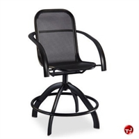Picture of Homecrest Florida Mesh 2F580, Outdoor Aluminum Swivel Balcony Stool