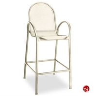 Picture of Homecrest Passport 2G240, Outdoor Aluminum Mesh Cafe Dining Barstool