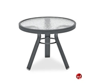 "Picture of Homecrest 1732501, Outdoor Glass 36"" Round Dining Table"