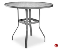 "Picture of Homecrest 0736501, Outdoor Glass 36"" Round Bar Table"