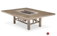 Picture of Homecrest 55504 Burner Firepit, Outdoor Firepit with cast Tile Table Top
