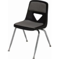 Picture of Scholar Craft 120 Series, 127-P Poly Plastic Armless Classroom Stacking Chair