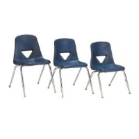 Picture of Scholar Craft 120 Series, 127-PAC Poly Plastic Classroom Stack Chair