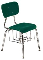 Picture of Scholar Craft 130 Series, 133-BB Poly Plastic Classroom Chair, Book Basket