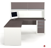 Picture of Bestar Connexion 93859,93859-68 Contemporary L Shape Computer Desk Workstation