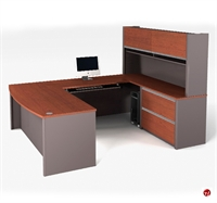 Picture of Bestar Connexion 93863,93863-68 Contemporary U Shape Computer Desk Workstation