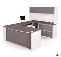 Picture of Bestar Connexion 93863,93863-59 Contemporary U Shape Computer Desk Workstation