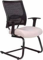 Picture of Guest Side Reception Sled Base Mesh Chair