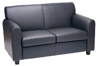 Picture of Contemporary Reception Lounge Two Seat Loveseat Sofa