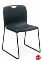 Picture of Abco Smart SSS53300, Guest Side Armless Sled Base Plastic Stack Chair