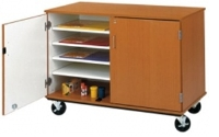"Picture of 36""H Closed Mobile Paper and Art Storage Cabinet"