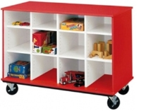 "Picture of 36""H Open Mobile Classroom Cubbie Storage"