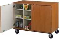 "Picture of 36""H Closed Mobile Classroom Storage Cubbie"