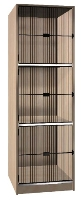 Picture of Ironwood 510-10-G, 1 Compartment Closed Music Storage Cabinet, Grill Door