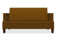 Picture of Valore Alba 6144, Reception Lounge Lobby 3 Seat Sofa