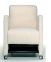 Picture of Valore Athens 6040, Reception Lounge Mobile Club Chair, Storage Shelf