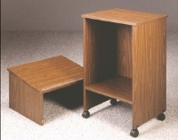Picture of Ironwood TSL, Stand Up Two Section Mobile Lecturn