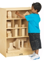 Picture of Jonti Craft 0358JC, Kids Play Block Shelf Mobile Storage Cabinet