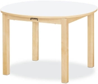 "Picture of Jonti Craft 56014JC, Kids 30"" Round Education Activity Dining Table"