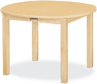 "Picture of Jonti Craft 56022JC, Kids 30"" Round Education Activity Dining Table"