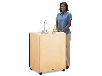 Picture of Jonti Craft 1360JC, Mobile Portable Sink - Plastic