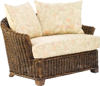 Picture of Whitecraft San Miguel S211013, Protected Outdoor Wicker /Cushion Bariatric Lounge Chair