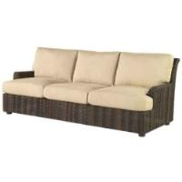 Picture of Whitecraft Aruba S530031, All Weather Wicker Cushion Three Seat Sofa