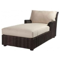 Picture of Whitecraft Aruba S530041, All Weather Wicker Cushion Chaise Lounge