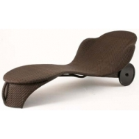 Picture of Whitecraft Bali S533061,All Weather Outdoor Wicker Mamba Chaise Lounge