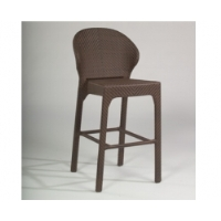 Picture of Whitecraft Bali S533091, All Weather Outdoor Cafeteria Dining Armless Barstool