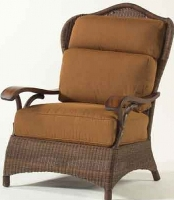 Picture of Whitecraft Chatham Run S525011, Outdoor Wicker Cushion Lounge Chair