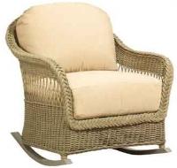 Picture of Whitecraft Nantucket S560805, Outdoor Wicker Cushion Rocker Chair