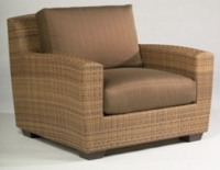 Picture of Whitecraft Saddleback S523011, All Weather Outdoor Wicker Lounge Chair